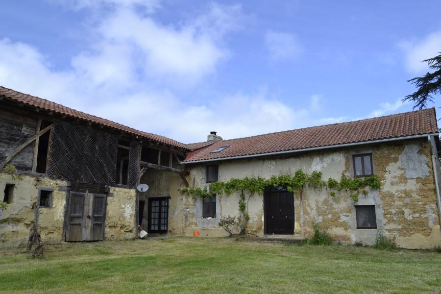 Maison vendre en midi pyrenees gers mielan ferme for Acheter maison gers