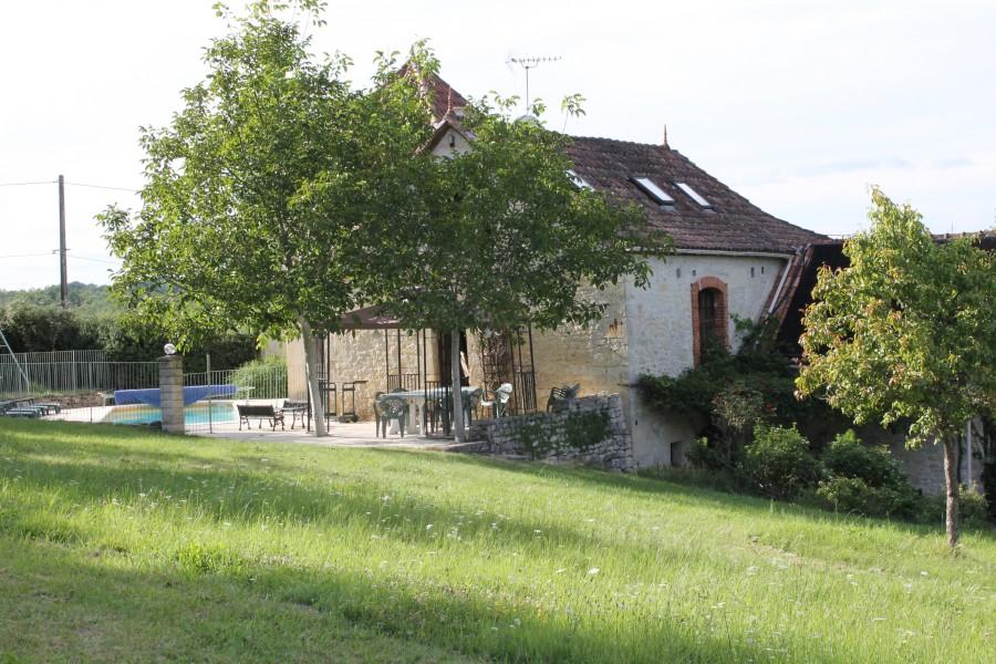 Maison vendre en midi pyrenees lot st denis catus propri t en pierre 5chambres 4 sdbs - Abri jardin occasion saint denis ...