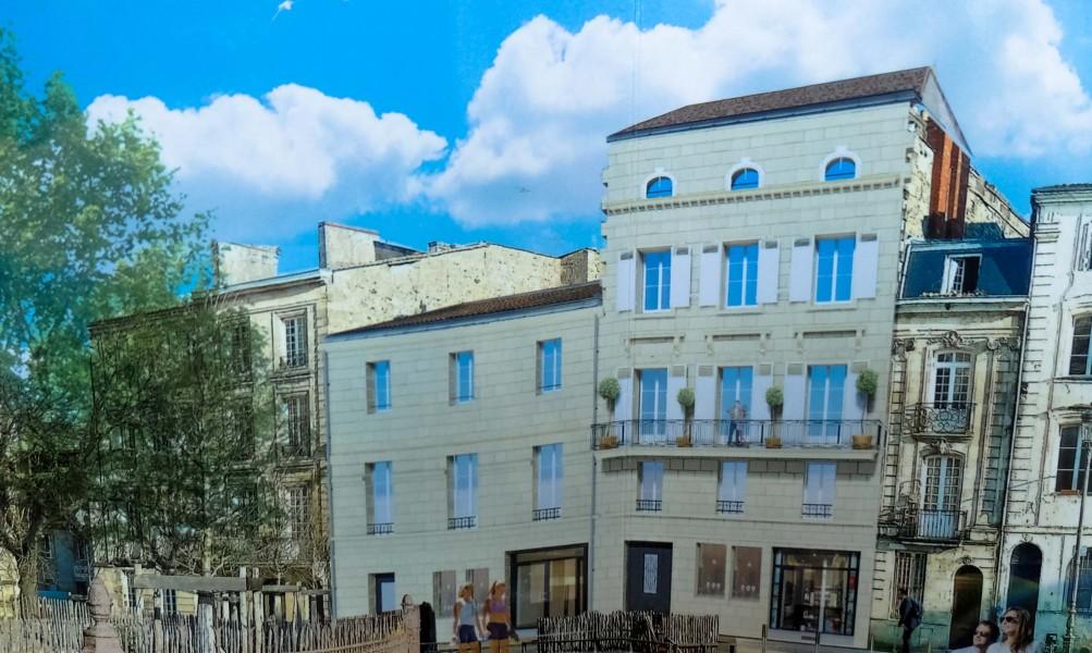 Appartement vendre en aquitaine gironde bordeaux une for Appartement centre ville bordeaux