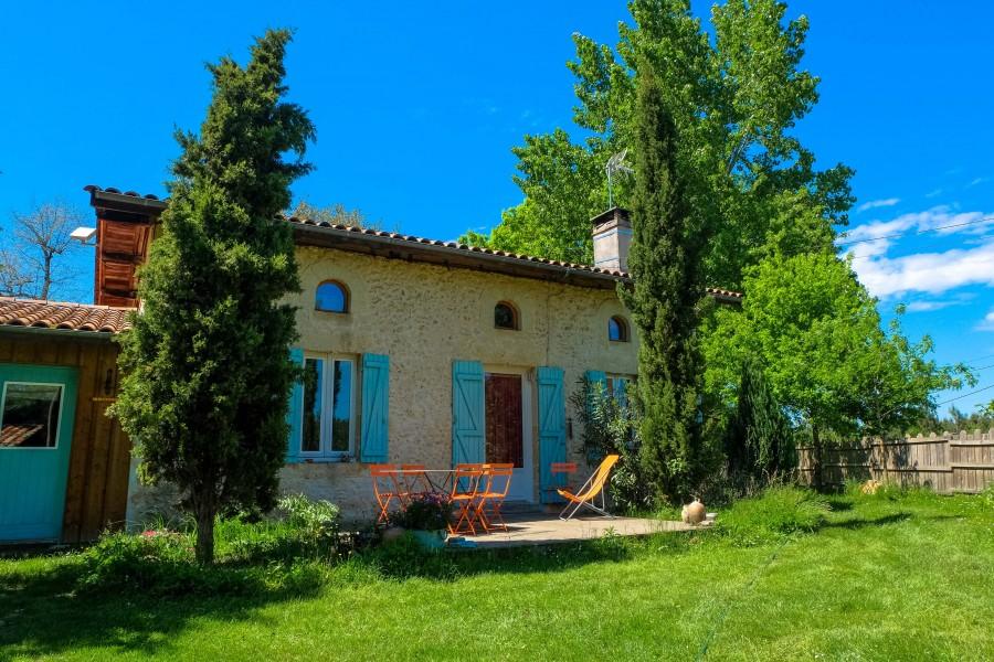 Maison vendre en aquitaine gironde louchats maison de for Acheter une maison en gironde