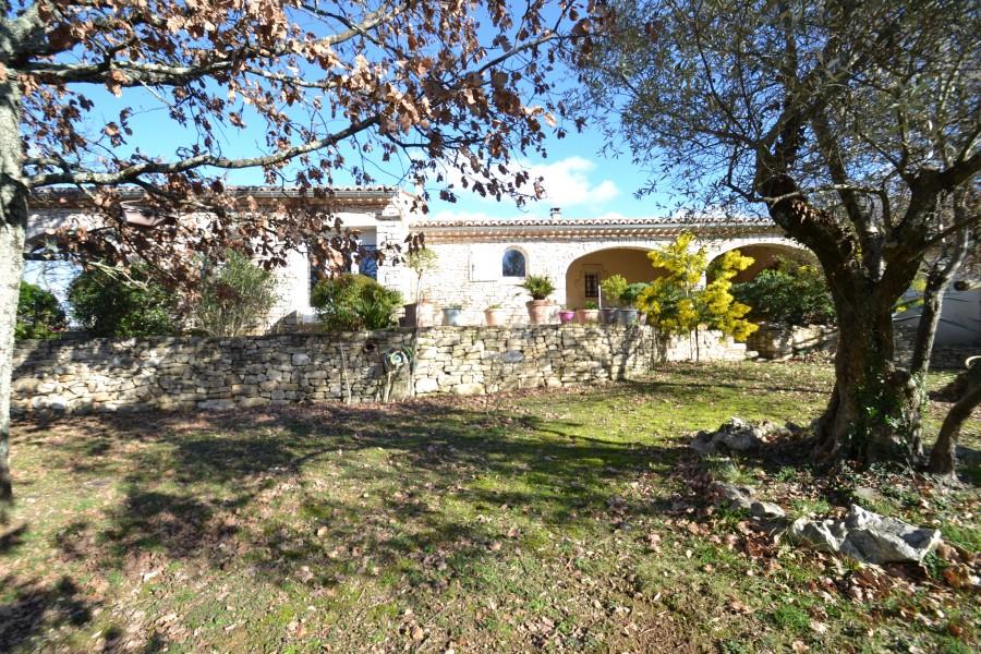 maison 224 vendre en languedoc roussillon gard rochegude villa haut de gamme style