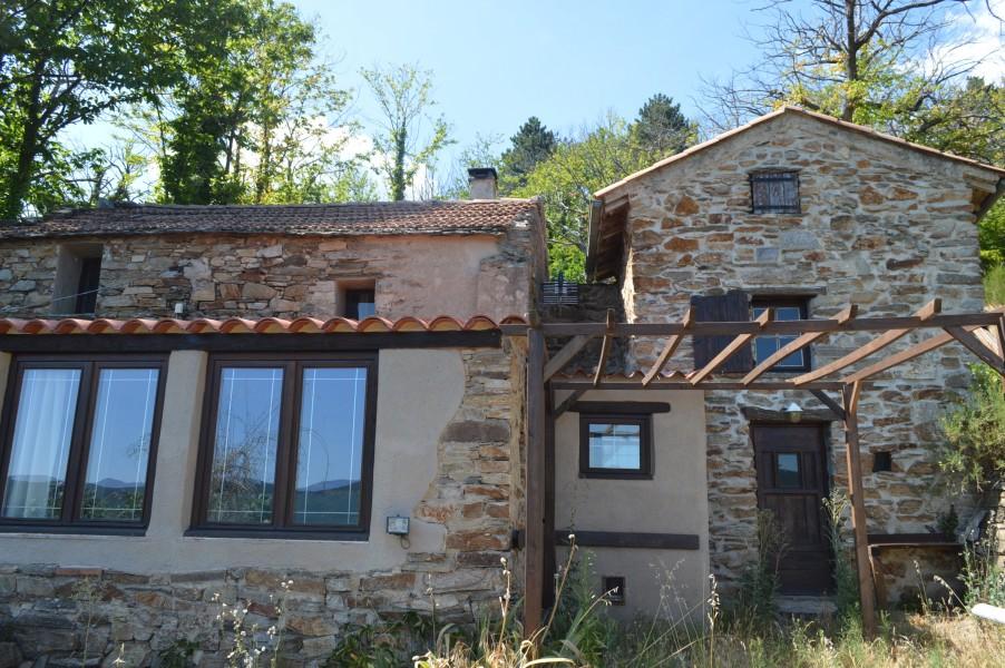 maison 224 vendre en languedoc roussillon herault olargues ravissante maison en pierres de 2