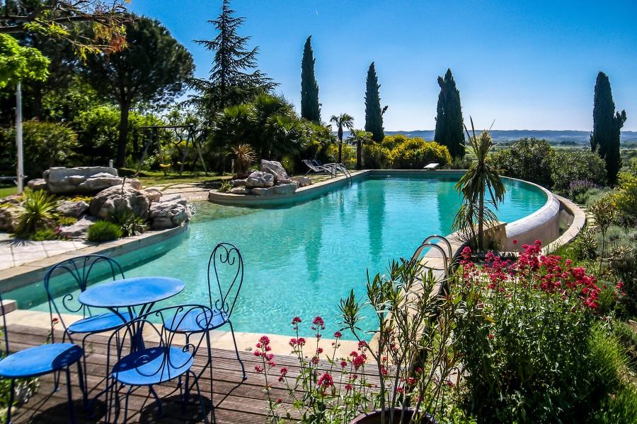 Maison vendre en languedoc roussillon herault saint for Location maison avec jardin 34