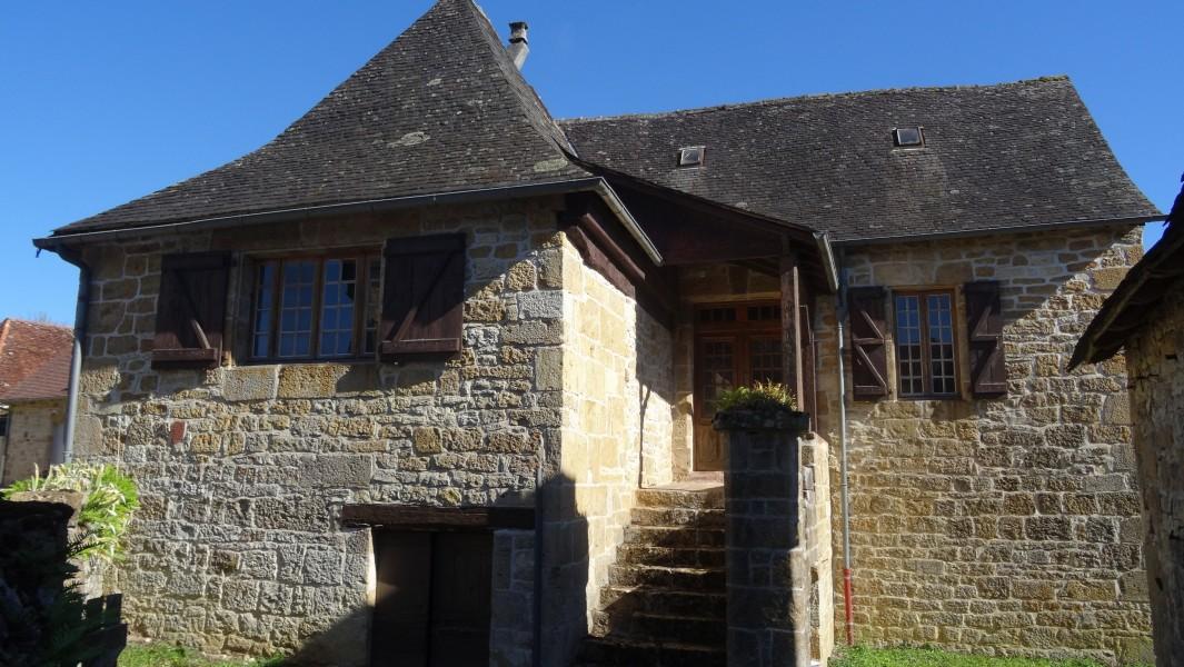 Maison vendre en limousin correze saillac tr s belle maison en pierres saillac avec cave - Maison a vendre en correze ...