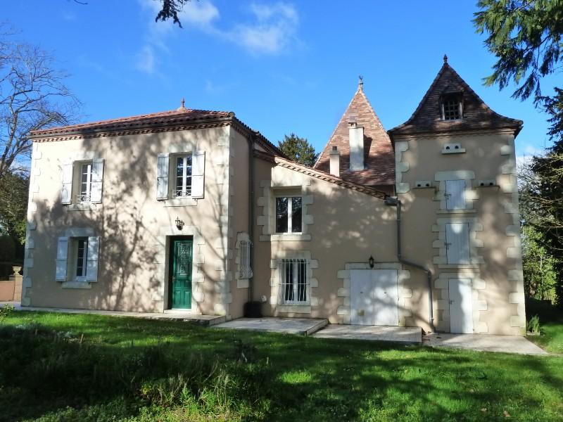 Maison vendre en aquitaine lot et garonne nerac for Plan maison de maitre