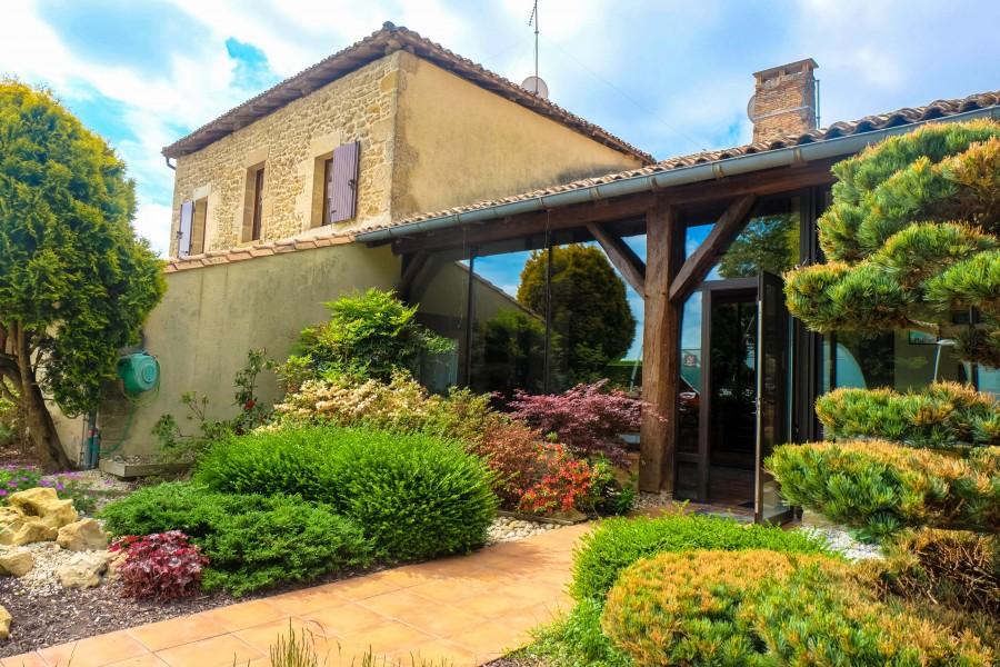 Maison vendre en aquitaine gironde bazas maison d for Achat maison bazas