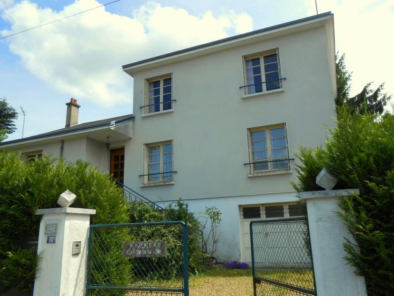 Maison vendre en centre loir et cher montrichard maison de ville 4 chambres grand jardin - Maison jardin public bordeaux vendre tours ...
