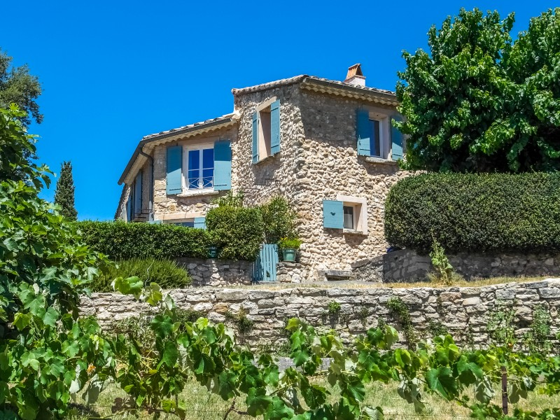 maison vendre en paca vaucluse bedoin b doin beau mas en pierres sur le ventoux avec. Black Bedroom Furniture Sets. Home Design Ideas