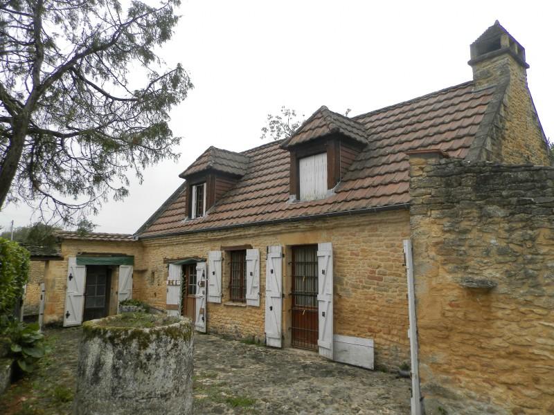 Maisonà vendre en Aquitaine Dordogne LA CHAPELLE AUBAREIL Maison en pierre avec jardin, bois  # Acheter Maison En Bois Avec Terrain