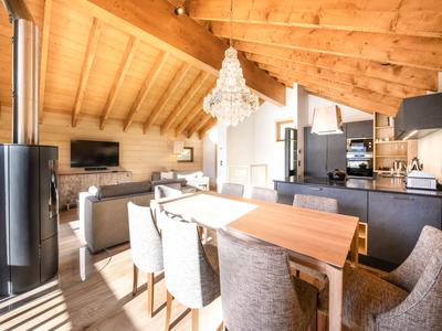 SPECIAL OFFER - Reduction for a limited time only Stunning, off-plan 4 bedroom ski chalet, complete with luxury amenities, and situated in Levassaix, just 1.7 km from Les Menuires and with access to a piste leading to 3 Valleys ski links
