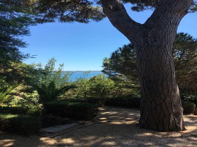 Sainte Maxime, Historical Art Deco Villa with amazing sea view overlooking the Golfe de Saint Tropez.