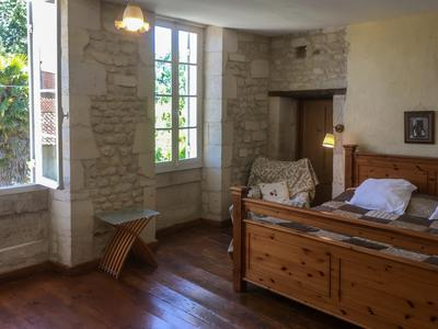 Stunning Charentaise 6 bedroomed manor house water mill with two gites, two swimming pools and enormous barn, sympathetically renovated to a high standard maintaining many original features. Hign speed internet.