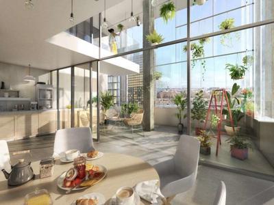 75013, Paris Rive Gauche, appartement de coin, haut de gamme orienté S/E/O, 2 Pièce de 50,54m2 (surface privative - voir plan), résolument optimisés offrant clarté et modernité, au 7e étage d'un ensemble avant-gardiste avec ascenseur et remise des clés à la début de 2024, procurant tout le confort incontournable de la vie actuelle, à 2 pas du Jardin des Plantes