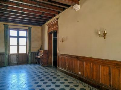 Large property on 19 ha : castle, guest house, pool, pond and various annexes