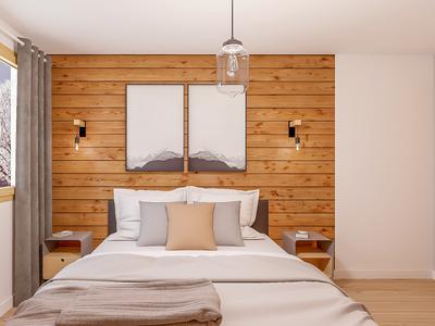 Chalet neuf de 100 m2 avec 3 chambres en vente; situé dans un développement prestigieux au Bettex, offrant un accès direct au plus grand domaine skiable au monde- les 3 Vallées