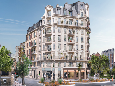 92250, close to La Defense and Paris, high-end 4 bedrooms SW facing apartment (5 rooms 2 baths - see floor plan) offering 85.80m2 + 7.90m2 1.90m2 balconies, bright & ultra-modern with optimized space ready to move in october 2022, situated on the 2nd floor of a contemporary building, with its largely glazed façades, close to the most fashionable cafés and terraces.
