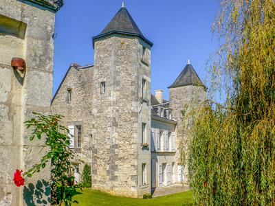 Sympathetically restored 6 bedroom 17th century manor house  with heated swimming pool and  1 hectare wooded park. 1h30 from London Stansted and 1hr 20 from Paris by TGV