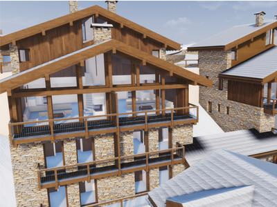 Luxury, 5-bedroom chalet for sale: ski-in ski-out; located in the centre of traditional ski village of Saint Martin de Belleville; direct access to the world's largest ski area – the 3 Valleys.