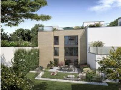Chaville - Urban & Sens - Apartment Souplex 4 rooms 102.08 m² (102.08 sqm).Luxury residence between Paris and Versailles and two large forest estates. Delivery 4th quarter 2022 - 7.553,00 €/m² SHAB, parking included - Loi Pinel.There, where life between Nature & Urbanity takes on a whole new meaning.