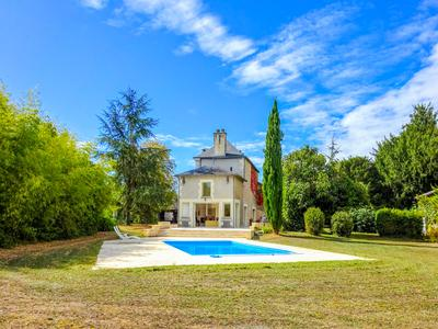 Wonderful mix of old and new with this beautiful 5 bedroom maison de Maitre with outbuildings, heated swimming pool and 4800 of garden only 1h30 from Stansted and 1hr20 from Paris