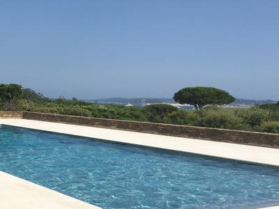 Stunning Contemporary 5 bedroom Villa with panoramic sea view in Grimaud