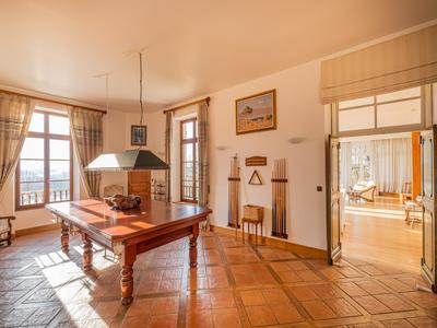 Enchanting boutique chateauwith 7 bedrooms and three reception rooms,private lodgeand swimmingpool.  Set on a plateau overlooking the marciac lake androlling Gascon hills with extensiveviews of the magnificent Pyrenees mountains.