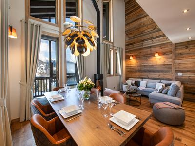 Outstanding 4-bedroom new build triplex freehold penthouse with spa - Meribel Centre (save up to 20% TVA*  + approx. 5% purchase fees**)