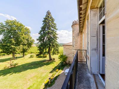 XVIIIth century castle of 536 m² with beds and breakfast and a small organic vineyard rented.