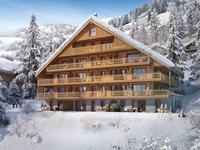 Opportunité d'achat sur plan - grand appartement T5 (153 m2) - adresse prestigieuse- grand balcon (22 m2) - emplacement ensoleillé avec vue - juste à côté des remontées mécaniques - Petit Chatel - Chatel - Portes du Soleil -