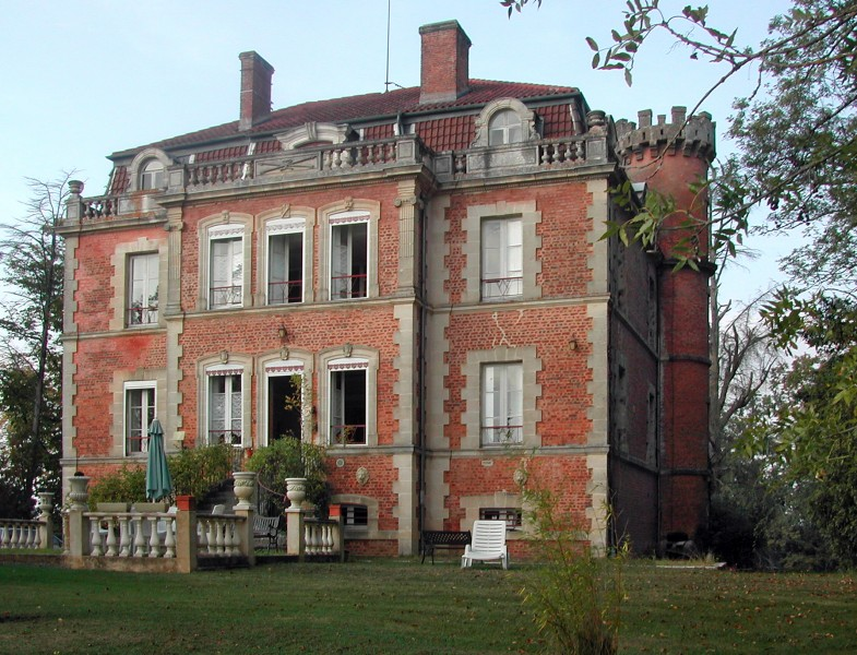 Chateau For Sale In Le Houga Gers 19th Century Small