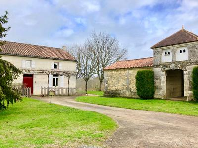 Country Estate set in 409 hectares with 17C Château, includes 200ha arable, Hunting Grounds, Equestrian, Charente.