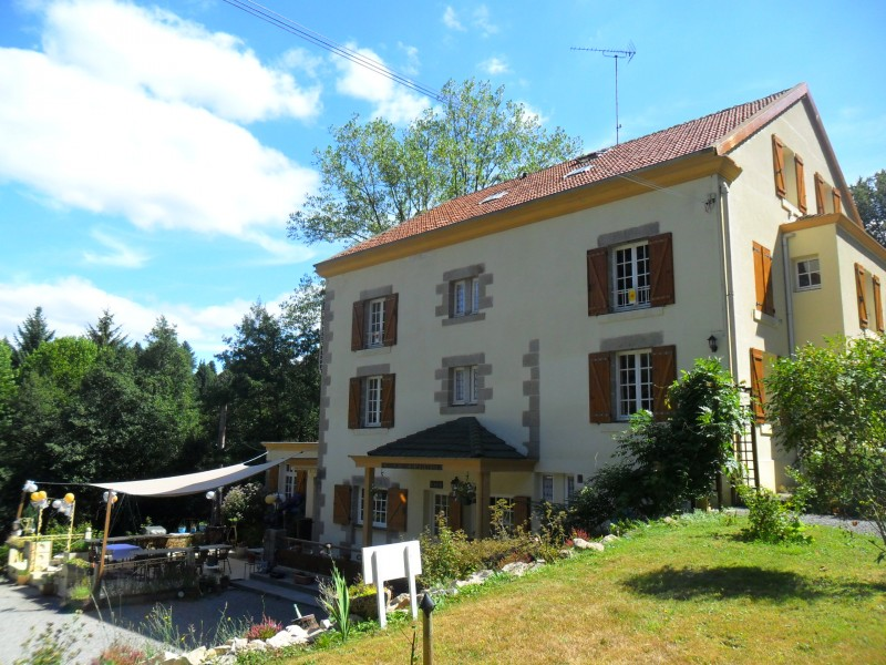 Mill For Sale In Bourganeuf Creuse Converted Water