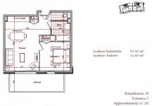 Appartement T2 sur plan haute gamme, sur les pistes a Bisanne 1500, Espace Diamant.