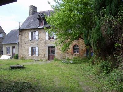 Maison vendre en bretagne ille et vilaine antrain ancien corps de ferme r nover sur - Petite maison a renover bord de mer ...