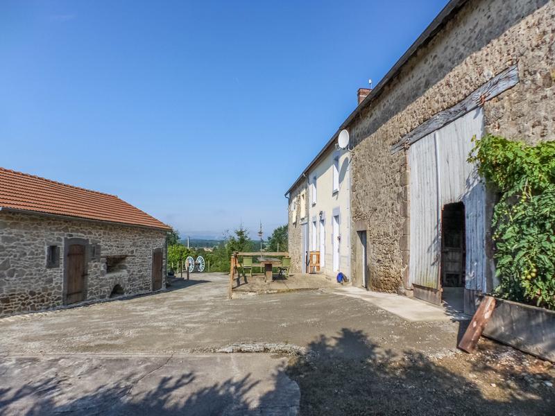 Maison à vendre à ST ETIENNE DE FURSAC(23290) - Creuse