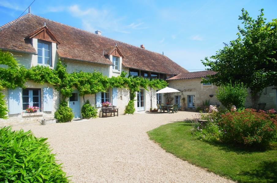 Maison vendre en poitou charentes vienne richelieu for Maison charme et tradition