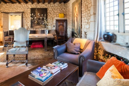 Exquisite 15th Century Logis and Equestrian Estate near Cognac