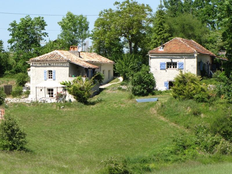 maison 224 vendre en midi pyrenees lot belmontet ensemble de 2 maisons en avec piscine