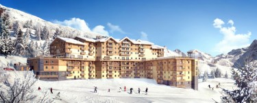 French ski chalets, properties in St Martin de Belleville, Les Menuires, Three Valleys