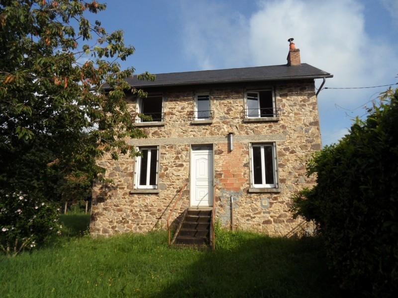 Maison vendre en limousin correze masseret maison en pierre renovee avec deux granges et - Maison a vendre en correze ...