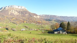 French ski chalets, properties in Les Gerards, Savoie Grand Revard, Massif des Bauges
