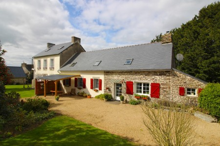 French property, houses and homes for sale in POULLAOUEN Finistere Brittany