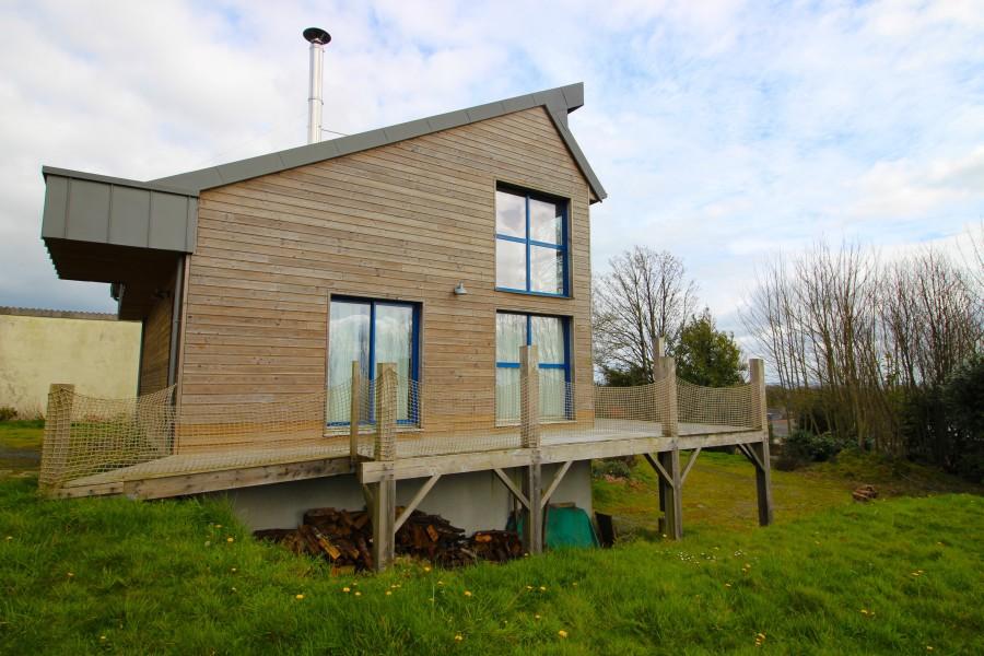 Maison vendre en bretagne finistere poullaouen maison for Maison moderne finistere