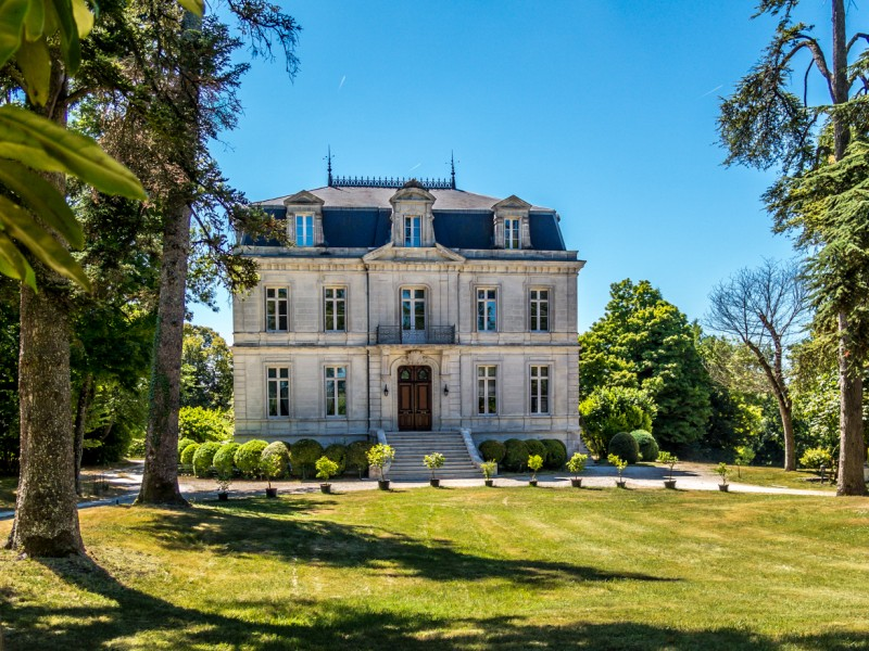 Chateau for sale in lignieres sonneville charente for French chateau homes for sale