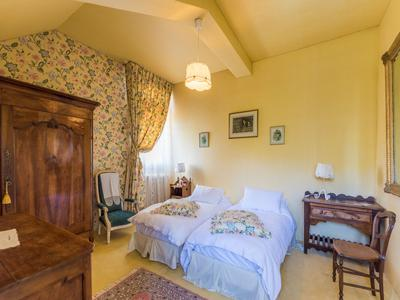 Beautiful 19th century château with 5 ensuite bedrooms set in glorious mature park with heated outdoor pool plus gatekeepers lodge, fishing pond, cottage to renovate, woods and 2 hectares of land.
