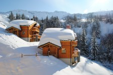 French ski chalets, properties in St Francois Longchamp, Saint-Francois-Longchamp, Le Grand Domain