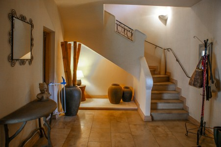 A beautiful 4 bedroom house with a swimming pool in St Paul en Forêt