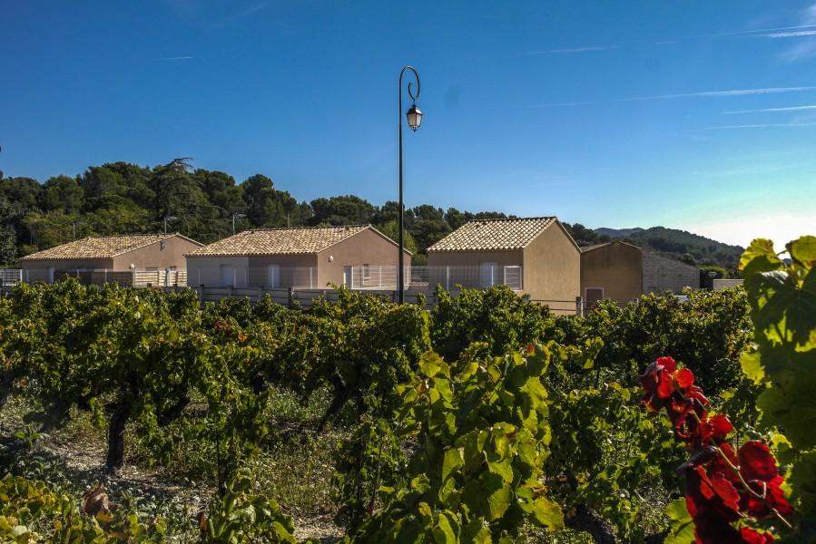 Maison vendre en paca vaucluse vacqueyras f4 neuf dans for Acheter une maison dans le vaucluse
