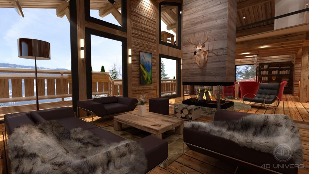 Chalet vendre en paca hautes alpes st chaffrey for Appartement design ski