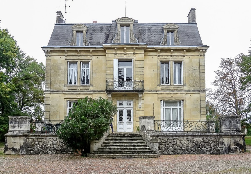 commercial for sale in cadillac gironde beautiful manor placed at the centre of the property. Black Bedroom Furniture Sets. Home Design Ideas